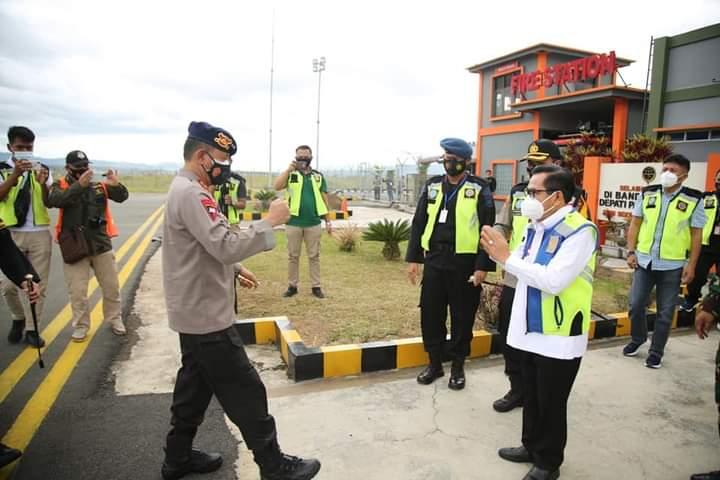 Wako AJB Dampingi Kunjungan Kapolda Sumsel