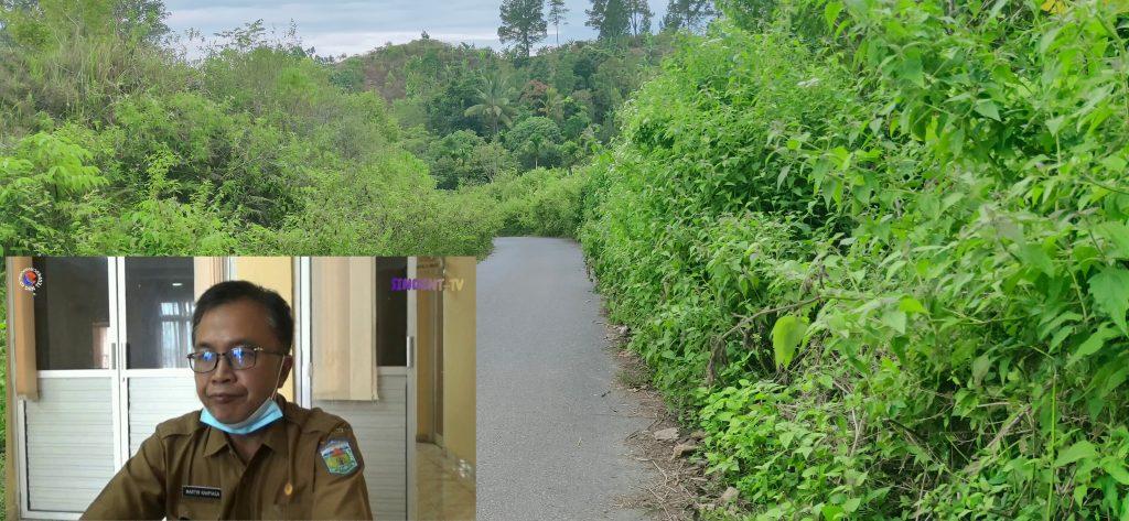 Dana Pemeliharaan Jalan Diduga Raib, Martin Berdalih