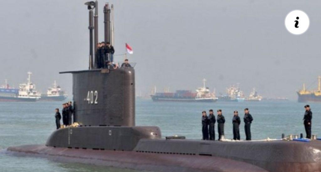 Kapal Selam KRI Nanggala 402 Ditemukan di Kedalaman 850 Meter