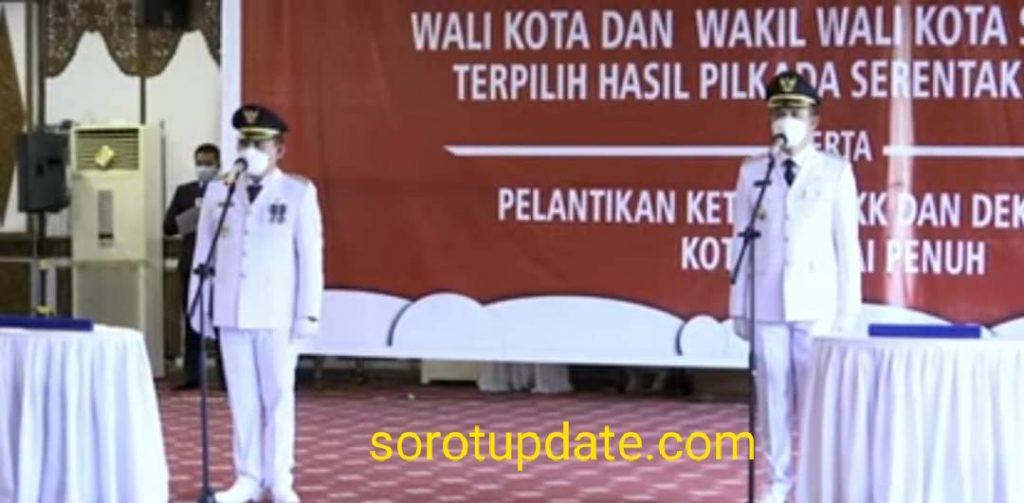 Resmi, PJ Gubernur Jambi Lantik Ahmadi – Antos Sebagai Walikota Dan Wakil Walikota Sungaipenuh
