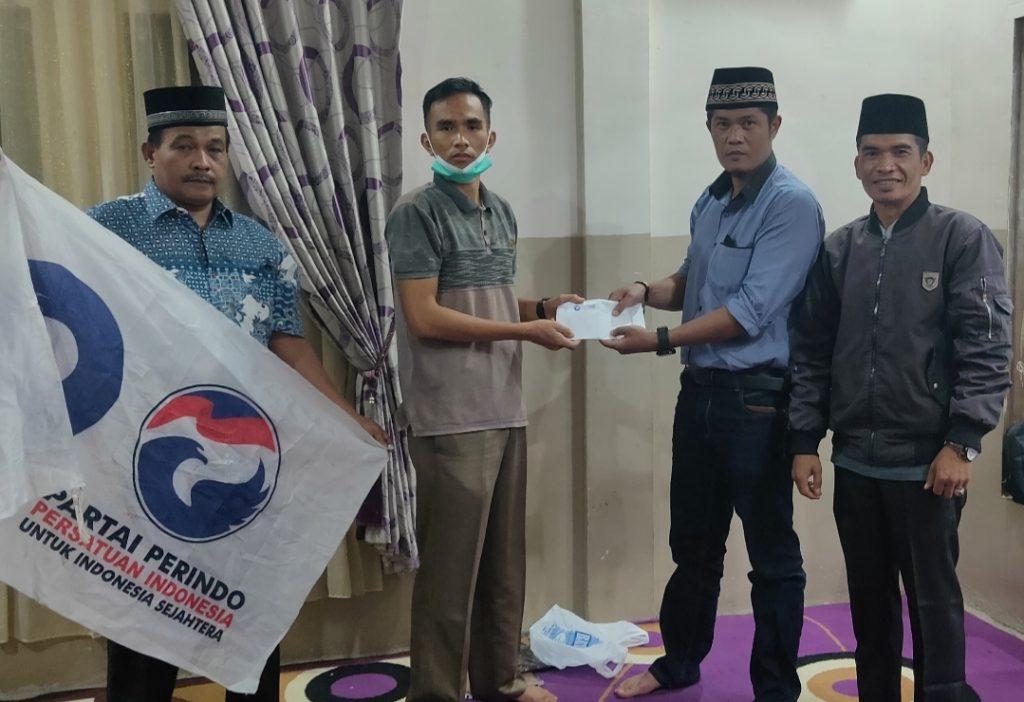 DPD Partai Perindo Kota Sungaipenuh Mendukung Program Kerja 100 Hari Walikota Sungaipenuh