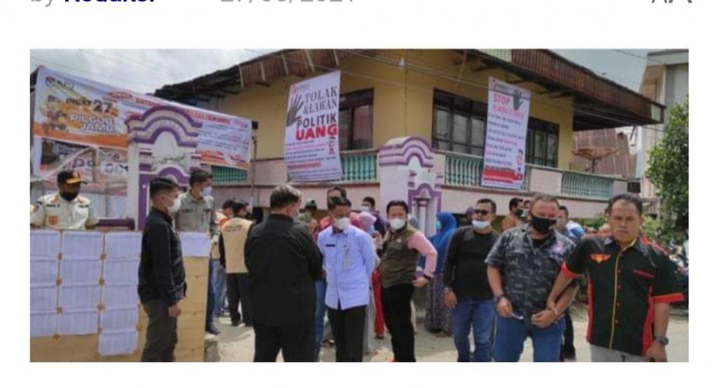 Pantau Pelaksanaan PSU, Sekda Alpian : Alhamdulillah Warga Sudah Menerapkan Prokes Covid-19