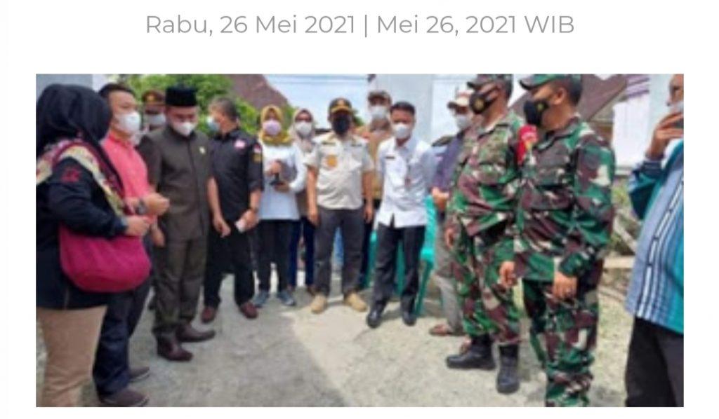 Ketua DPRD Kota Sungai Penuh Pantau Kesiapan PSU di Koto Baru