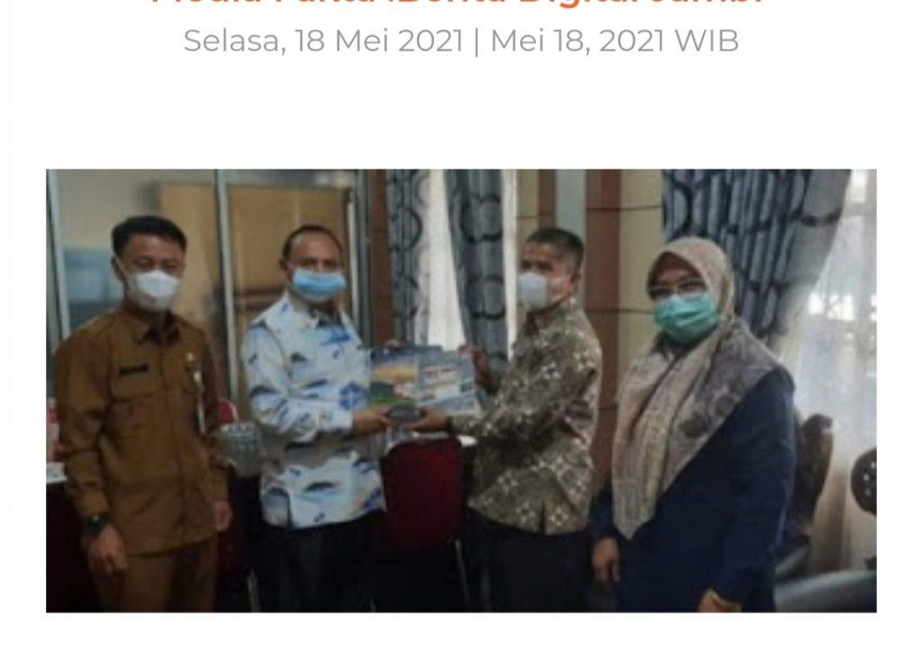 Wakil Ketua DPRD Kota Sungai Penuh Syafriadi Terima Laporan Tahapan Akhir Pilkada 2020 dari KPU