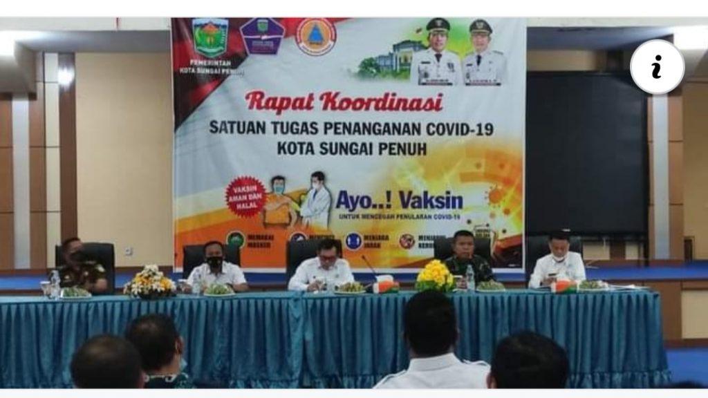 Upaya Penanganan Covid 19, Wako Ahmadi Minta Efektifkan Alokasi DD 8 Persen
