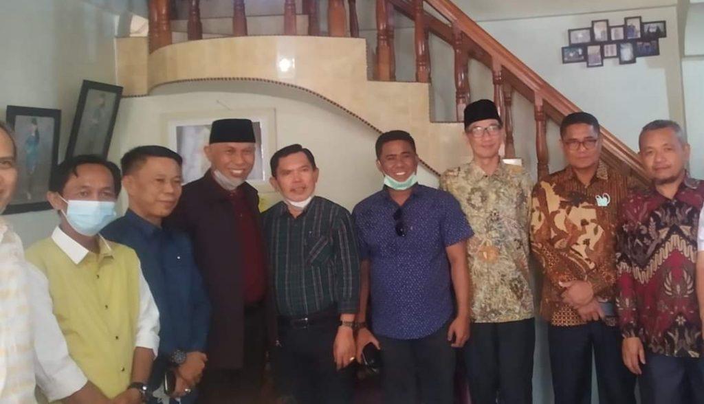 Gubernur Sumbar Kunjungi Walikota Sungaipenuh Minggu Pagi