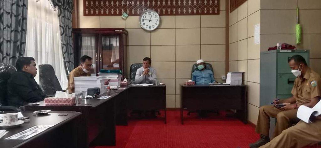 Bersama Dinas PUPR, Komisi III DPRD Kota Sungaipenuh Pertanyakan Kualitas Dan Realisasi Fisik