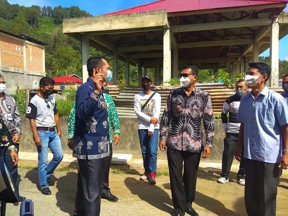 Sidak Ke Desa, Wawako Antos : Desa Ujung Tombak Pencegahan Covid19