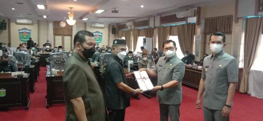 Dalam Penyampaian KUA PPAS 2022, DPRD Rapat Bersama Walikota Sungaipenuh